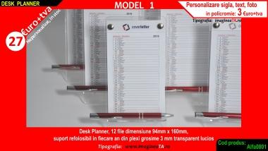 Planner model 1 de birou