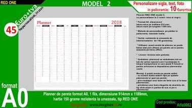 Planner model 2 format A0